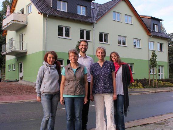 v.l.n.r.: Ilka Michel, Katrin Kempe, Andreas Büttner, Claudia Goldhahn, Anne-Christin Gehmlich