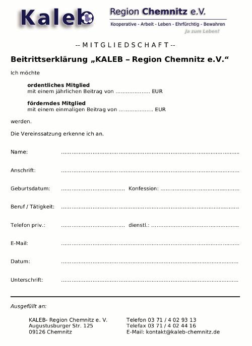 Beitrittserklärung herunterladen (PDF)