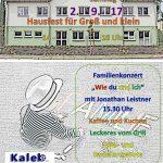 """Herzlich willkommen zu unserem """"Hausfest"""" am Samstag, den 2. September 2017"""