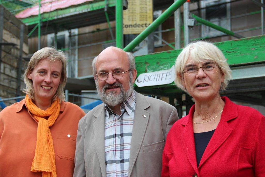 v.l.n.r. Claudia Goldhahn, Gerhard Steier, Ruthild Kohlmann (Foto: Thomas Schneider/agwelt.de)