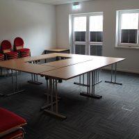 Unser neuer teilbarer Seminarraum